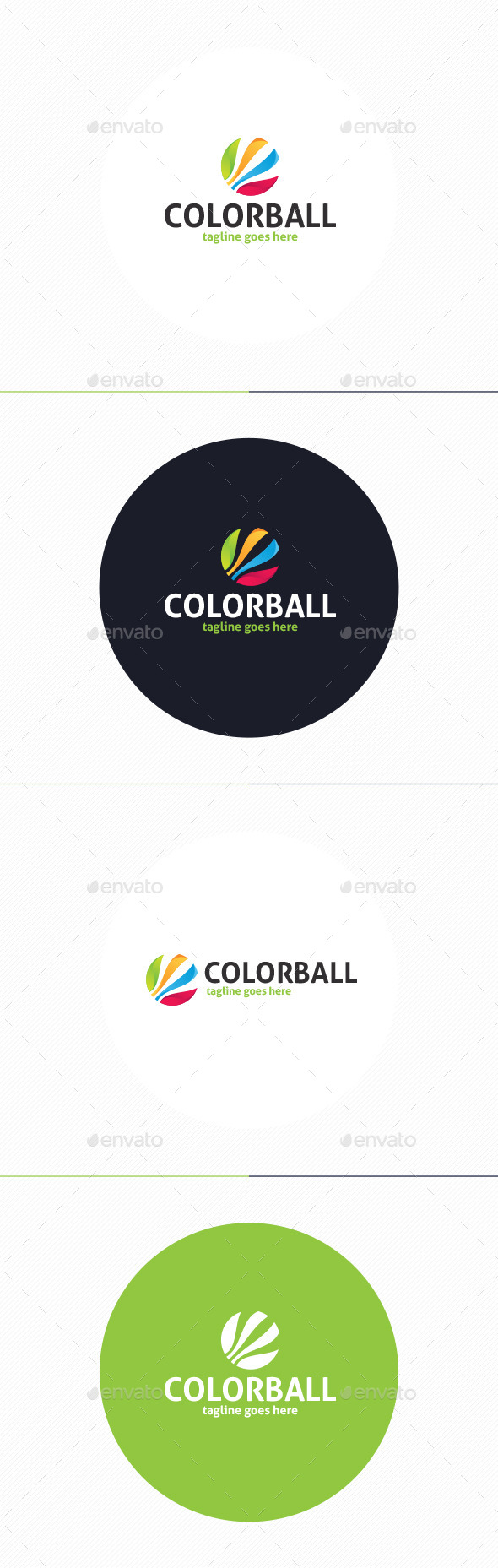 GraphicRiver Color Ball Logo 10932313