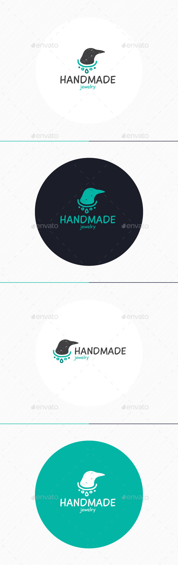 GraphicRiver Hand Made Jewelry Logo 10932384