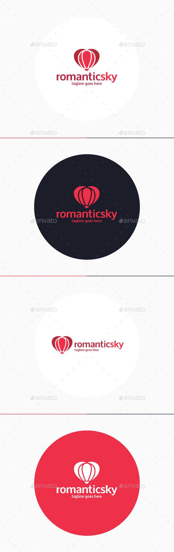 GraphicRiver Romantic Sky Logo 10932436