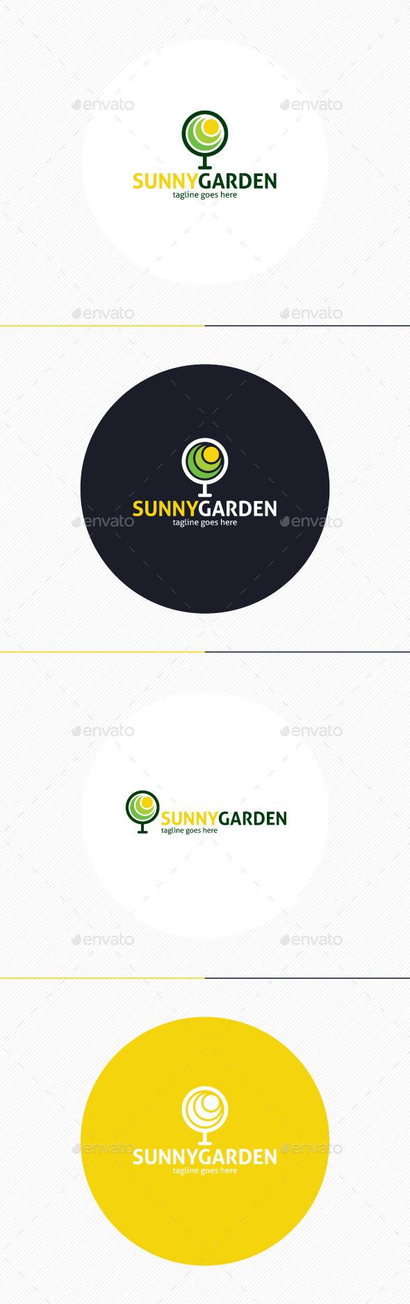 GraphicRiver Sunny Garden Logo 10932468