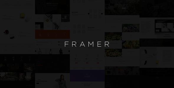 ThemeForest Framer Component-Based Multi-Purpose Framework 10898825