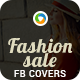 Fashion Sale Facebook Covers - 2 Designs - GraphicRiver Item for Sale