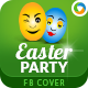 Easter Party Facebook Cover - GraphicRiver Item for Sale
