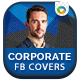 Corporate Facebook Covers - 5 Designs - GraphicRiver Item for Sale