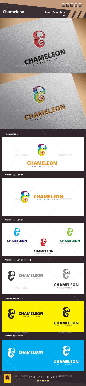 GraphicRiver Chameleon Logo Template 10933207