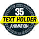35 Text Holder Animation - VideoHive Item for Sale