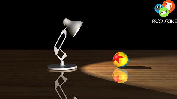 3DOcean Pixar Luxo Jr 3D Lamp Model 10933625