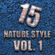 15 Nature Style Vol. 1 - GraphicRiver Item for Sale