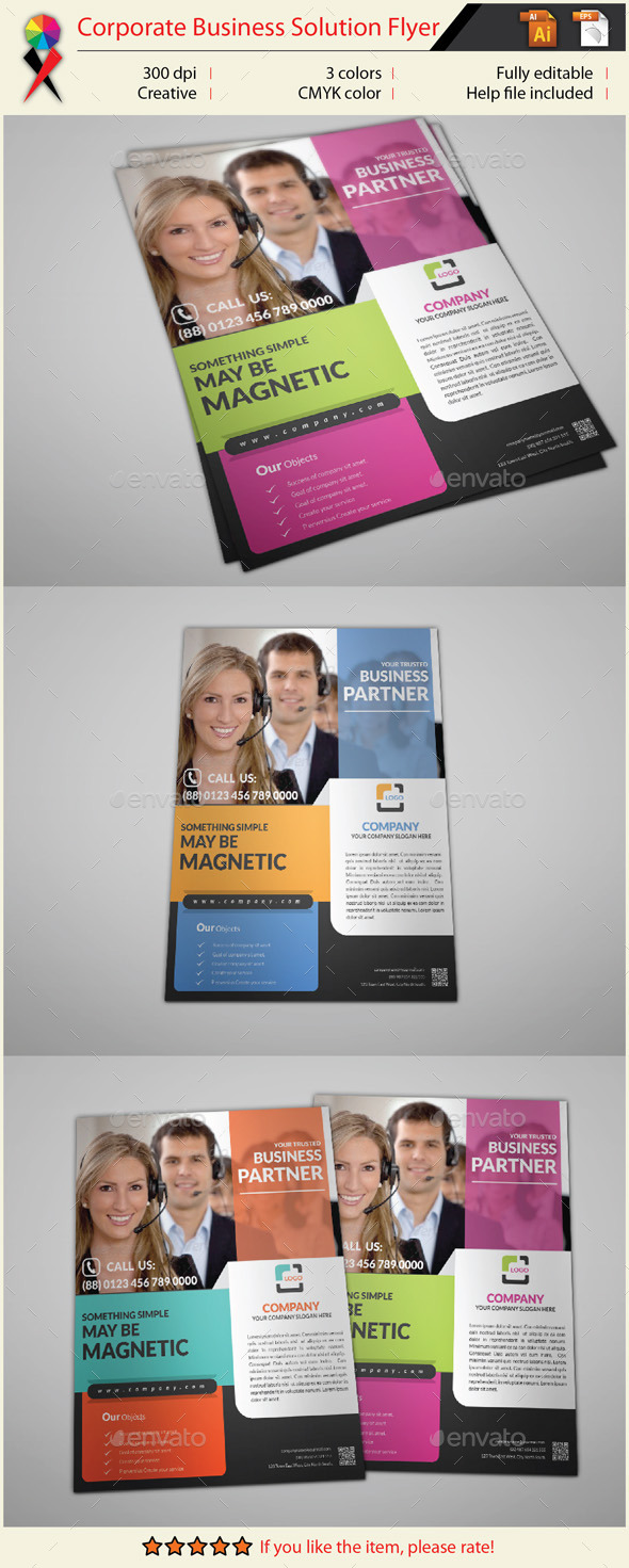GraphicRiver Corporate Business Flyer 10872236