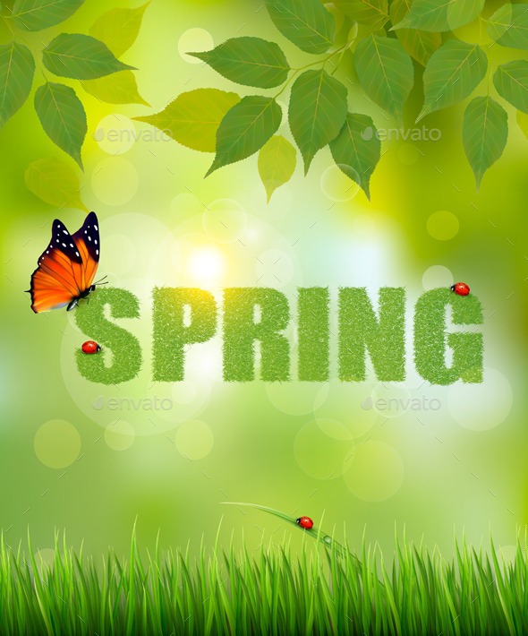 GraphicRiver Spring Background 10934494