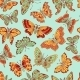 Seamless Pattern with Decorative Butterflies - GraphicRiver Item for Sale