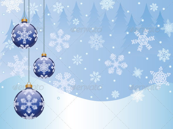 GraphicRiver Christmas background 135773