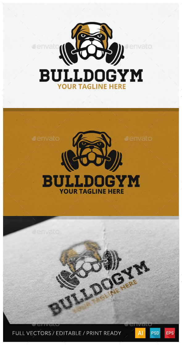 GraphicRiver Bulldog Logo Design 10924584