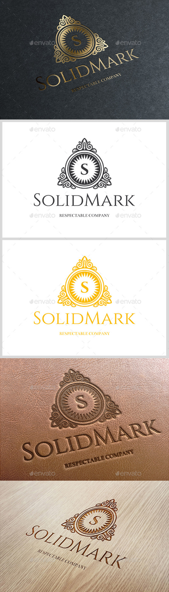 GraphicRiver SolidMark Logo 10935408