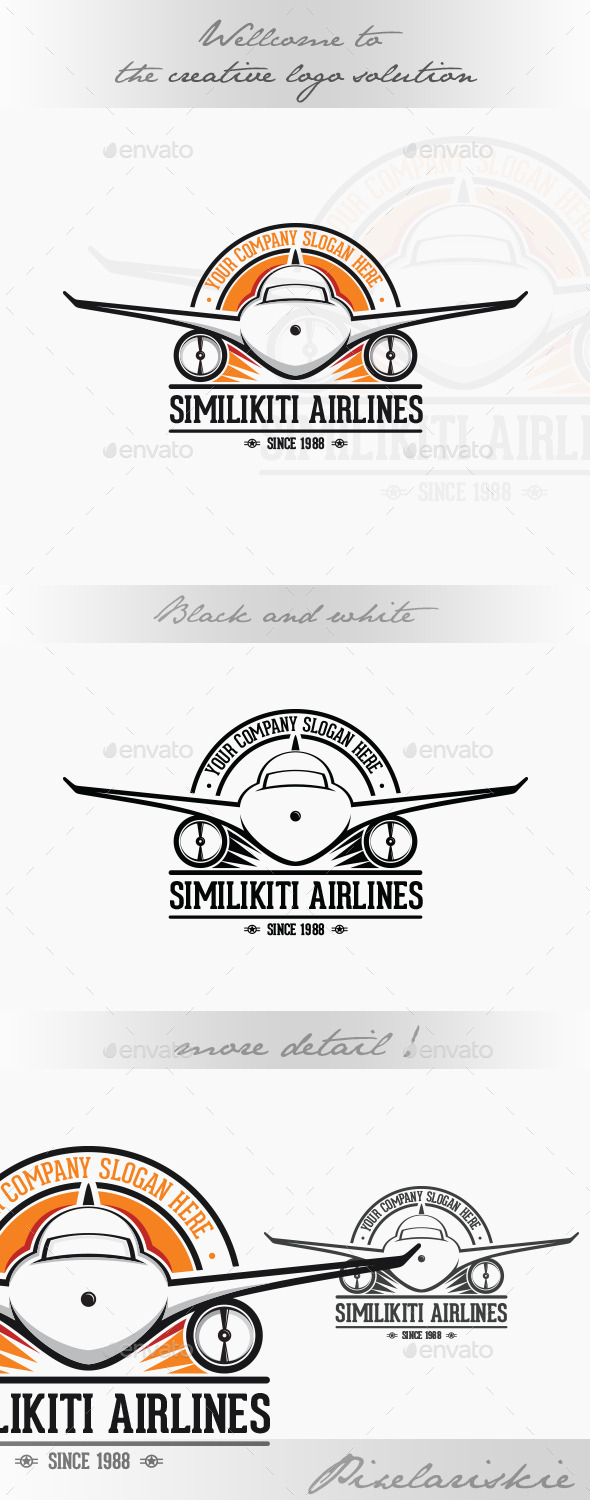 GraphicRiver Airlines Logo 10935454