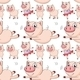Seamless Pigs - GraphicRiver Item for Sale