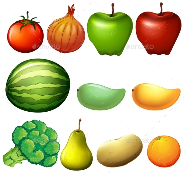 GraphicRiver Different Fruits 10935569