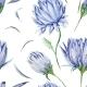Indigo Floral Pattern - GraphicRiver Item for Sale