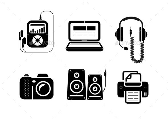 GraphicRiver Multimedia Icons 10935598