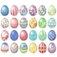 Pastel Eggs - GraphicRiver Item for Sale