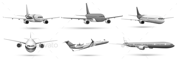 GraphicRiver Planes 10935623