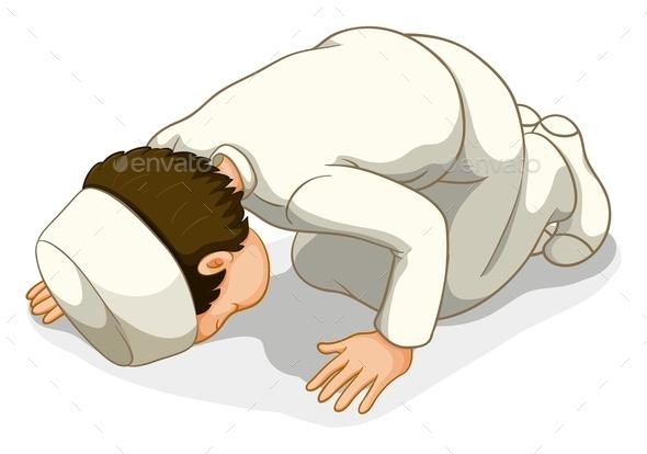 GraphicRiver Muslim Praying 10935629