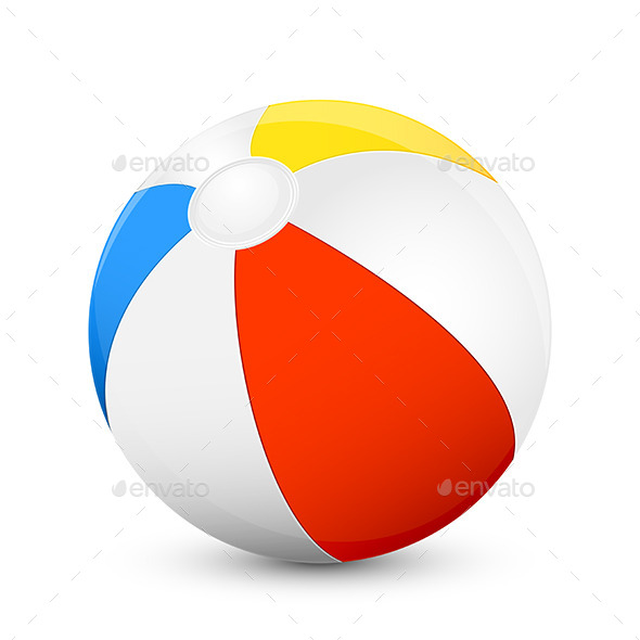 GraphicRiver Beach Ball 10935690