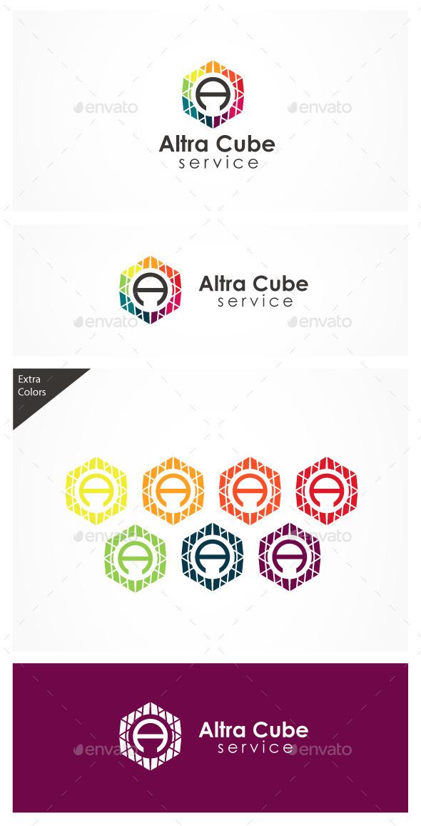 GraphicRiver Altra Cube A logo 10935697