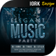 Elegant Music Party Flyer - GraphicRiver Item for Sale