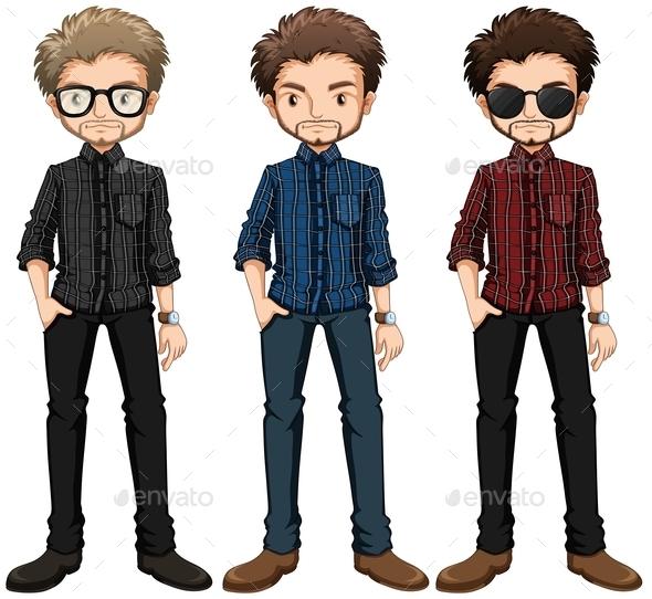 GraphicRiver Hipster Men 10935736