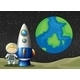Space and Astronaunt - GraphicRiver Item for Sale