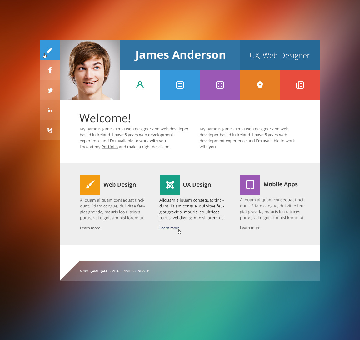 Fantastic Wordpress Theme Personal Gallery - Wordpress Themes ...