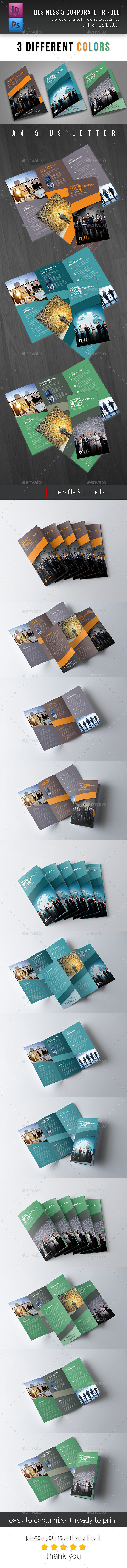 GraphicRiver Trifold Brochure Vol 2 10870588