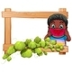 Wooden Frame with a Boy Eating Watermelon - GraphicRiver Item for Sale