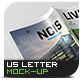 US Letter Magazine / Brochure / Catalog Mock-Up - GraphicRiver Item for Sale