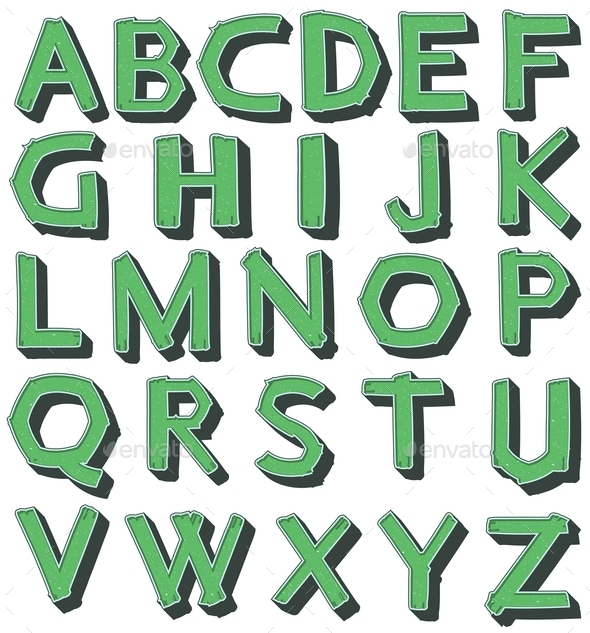 GraphicRiver Alphabet 10935987