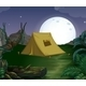 Tent and Fullmoon - GraphicRiver Item for Sale