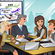 Business People in a Meeting - GraphicRiver Item for Sale