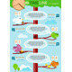 Timeline with Colorful Birds on Tree - GraphicRiver Item for Sale