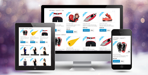 CodeCanyon SP Slider Responsive Prestashop Module 10936451