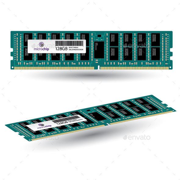 GraphicRiver Computer Memory 10936455