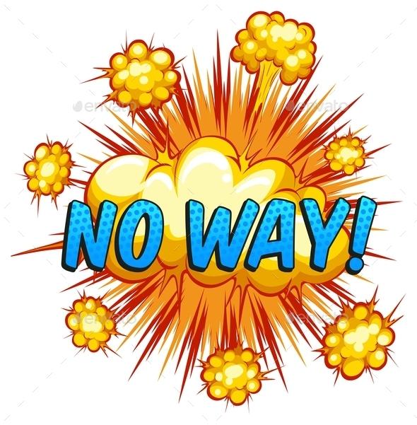 GraphicRiver No way 10936572