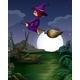 Witch Flying - GraphicRiver Item for Sale