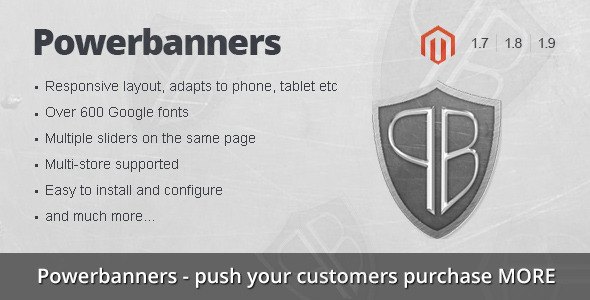 CodeCanyon Powerbanners Responsive banner slider 10936806