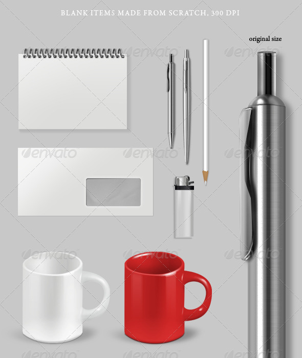 GraphicRiver Blank Items 135786