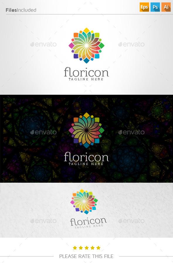 GraphicRiver Flower Logo 10936867