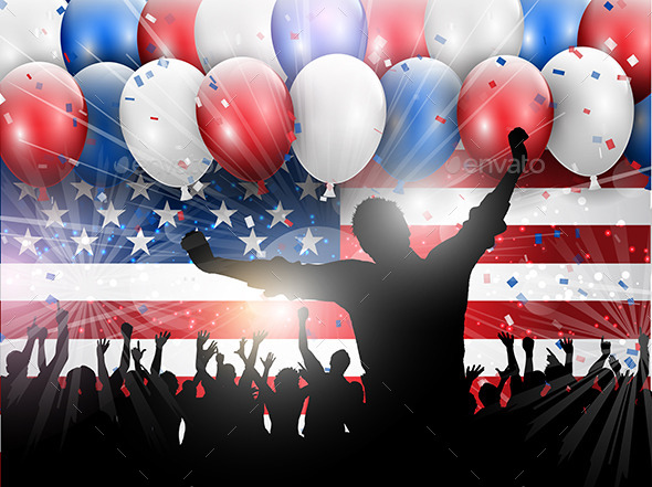 GraphicRiver Independence Day Party 10936894