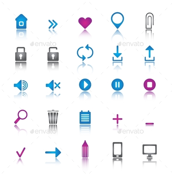 GraphicRiver Universal Set of Icons 10936916