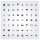 Set of Web Universal Icons - GraphicRiver Item for Sale