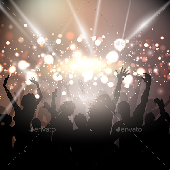 GraphicRiver Party Background 10936937